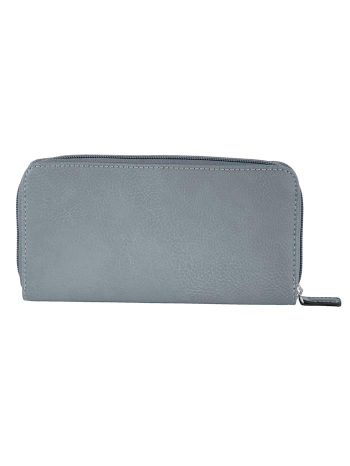 Plånbok med praktisk fackindelning