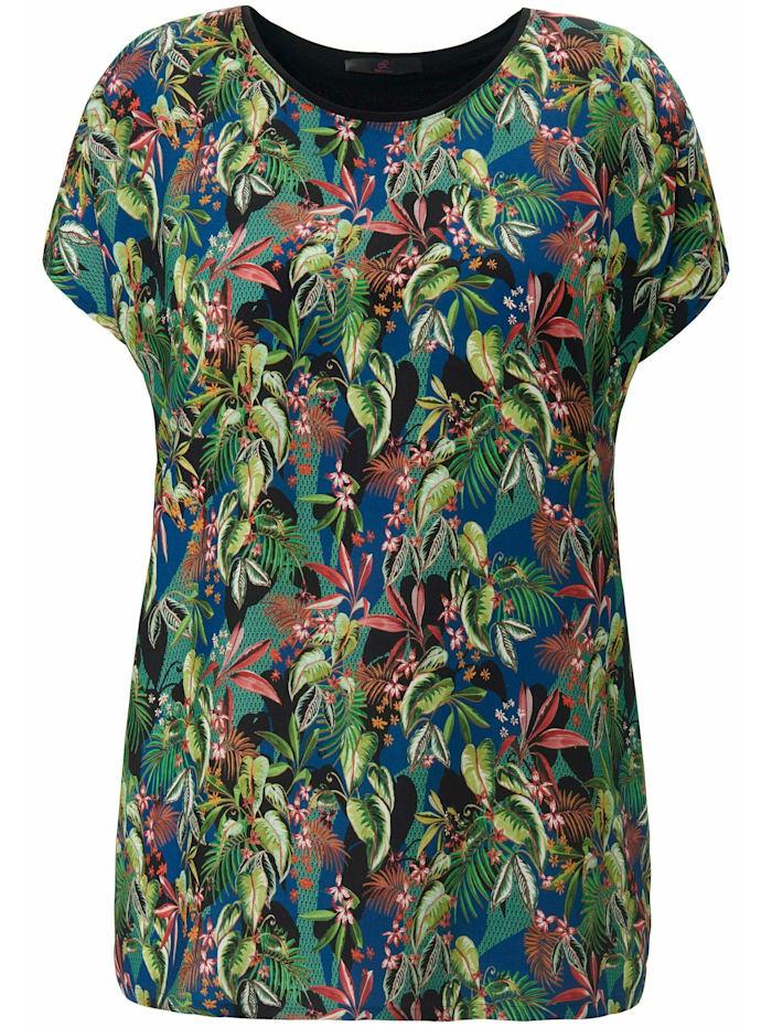 Emilia Lay Shirt Blusen-Shirt mit überschnittener Schulter ., multicolor