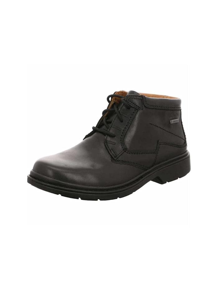 Clarks Stiefel, schwarz