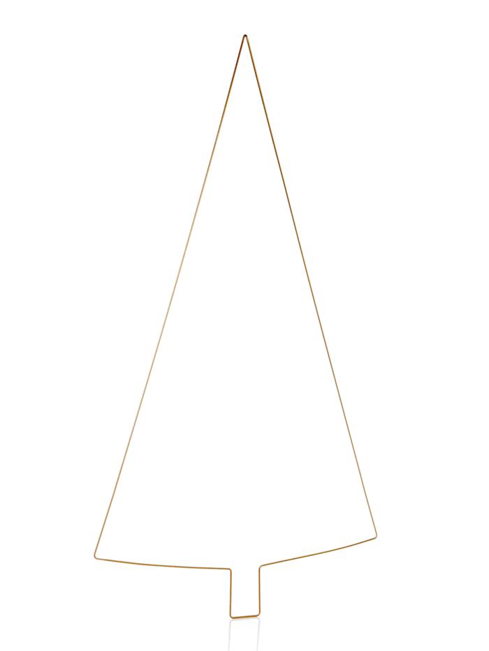 Christbaumhänger, gold