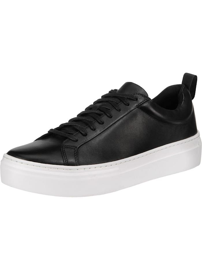 Vagabond Zoe Platform Sneakers Low, schwarz