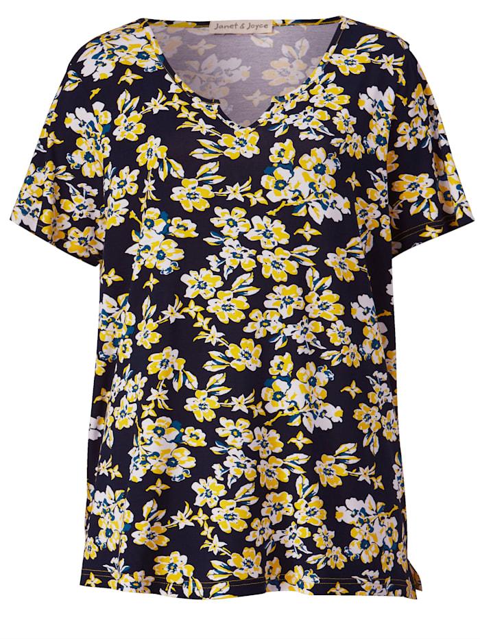 Shirt aus elastischem Jerseymaterial