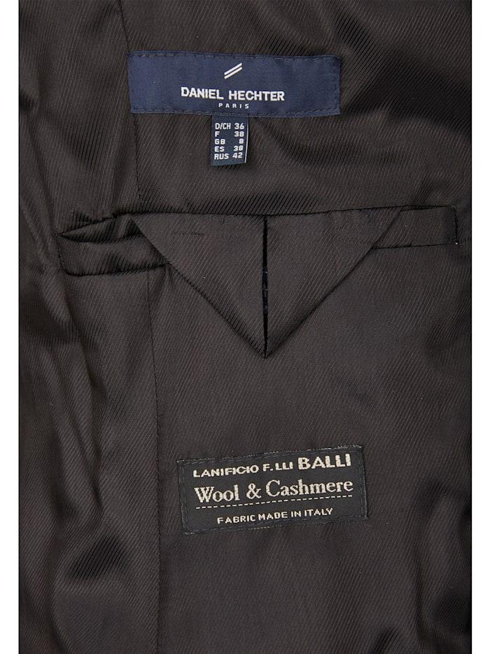 Trendiger Mantel mit Leder-Bindegürtel