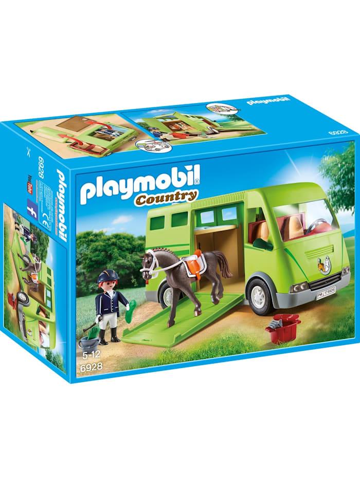 PLAYMOBIL Konstruktionsspielzeug Pferdetransporter, bunt/multi