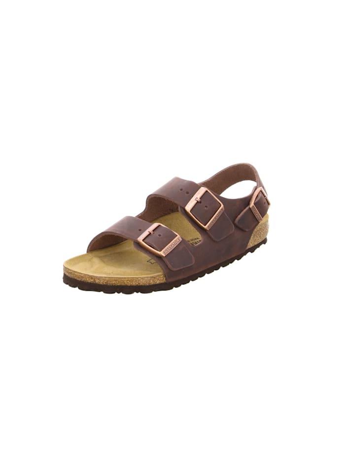 Birkenstock Sandalen/Sandaletten, dunkel-braun