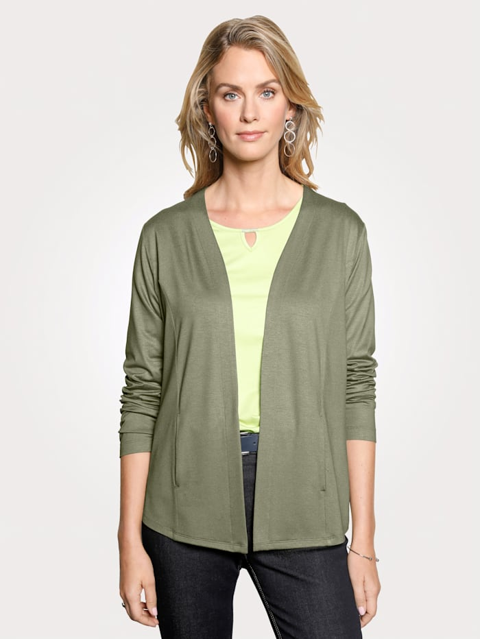 Rabe Jacket with fitting seams, Olive