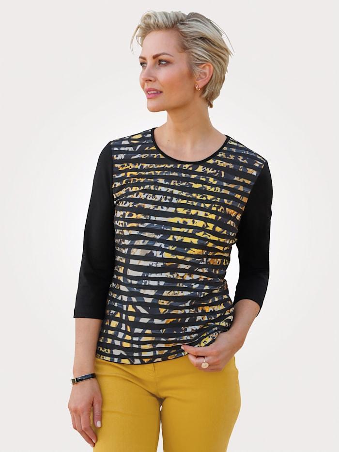 Barbara Lebek Top, Black/Yellow
