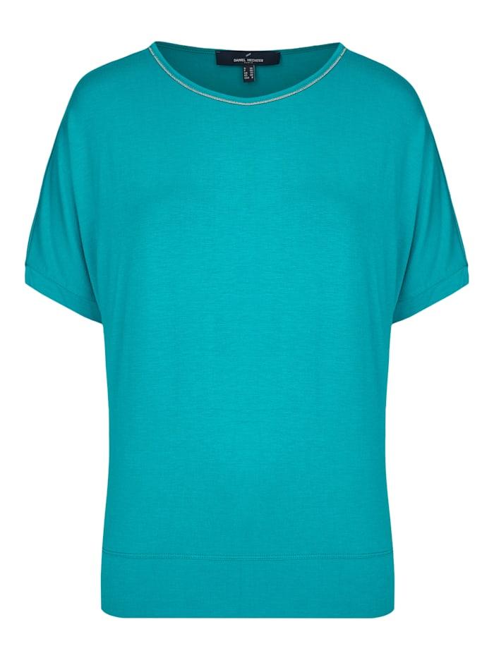 Modernes Shirt mit Zierleiste am Kragen
