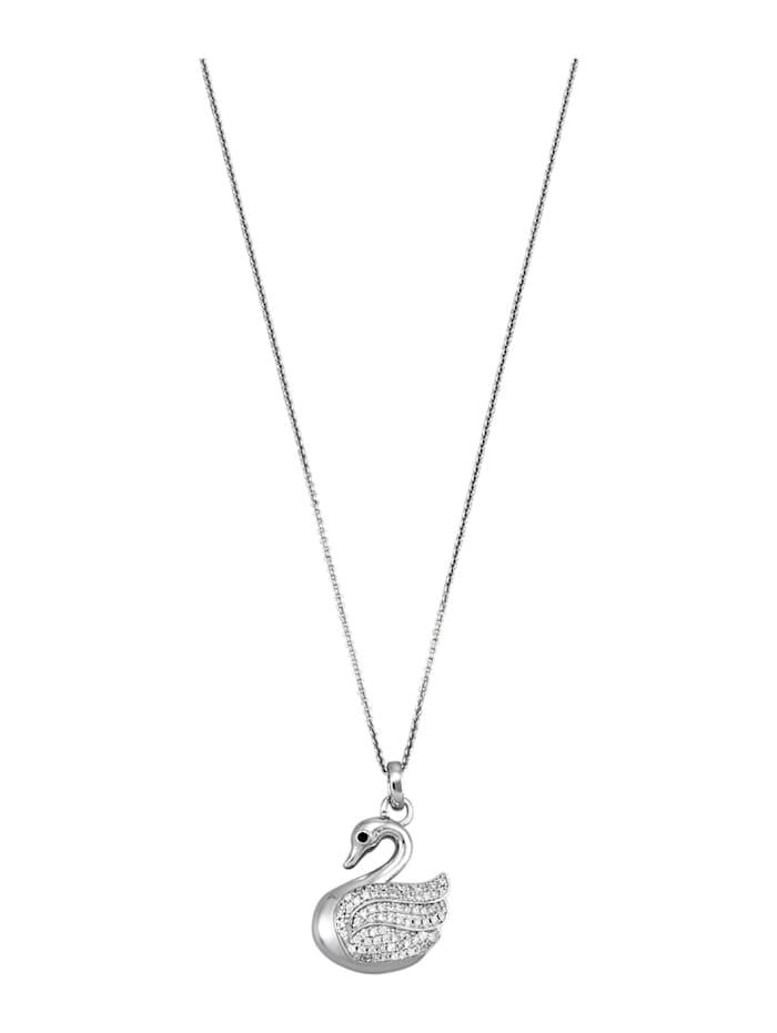 AMY VERMONT Hanger met ketting, Zilverkleur
