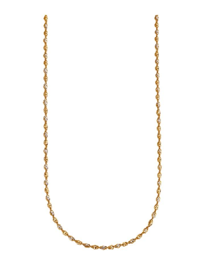 Luigi Merano Singapurkette in Gelbgold 375, Gelbgoldfarben