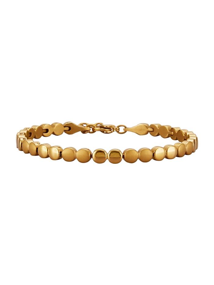 Armband aus Titan, Gelbgoldfarben
