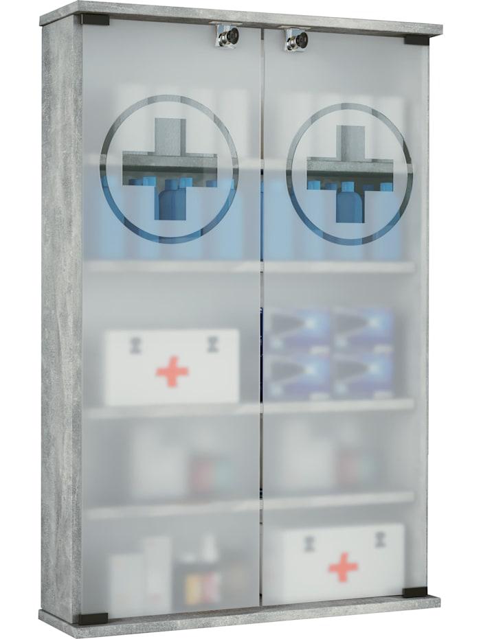 Wand - Medizinschrank Janula XXL abschließbar