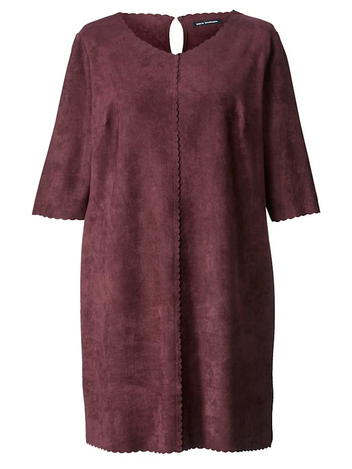 Kleid aus Velours