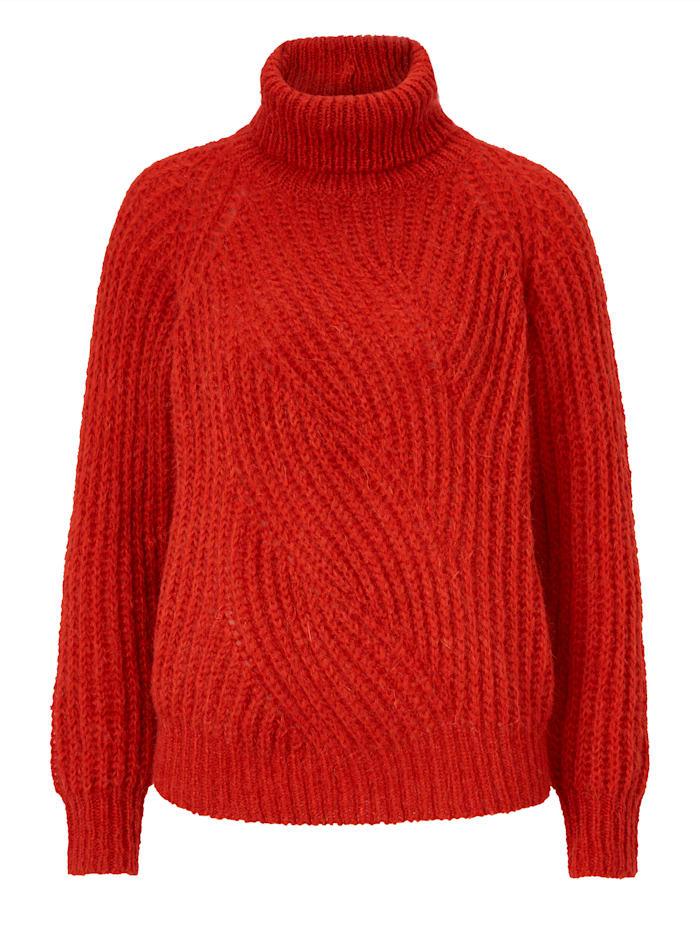 REKEN MAAR Pullover, Rost