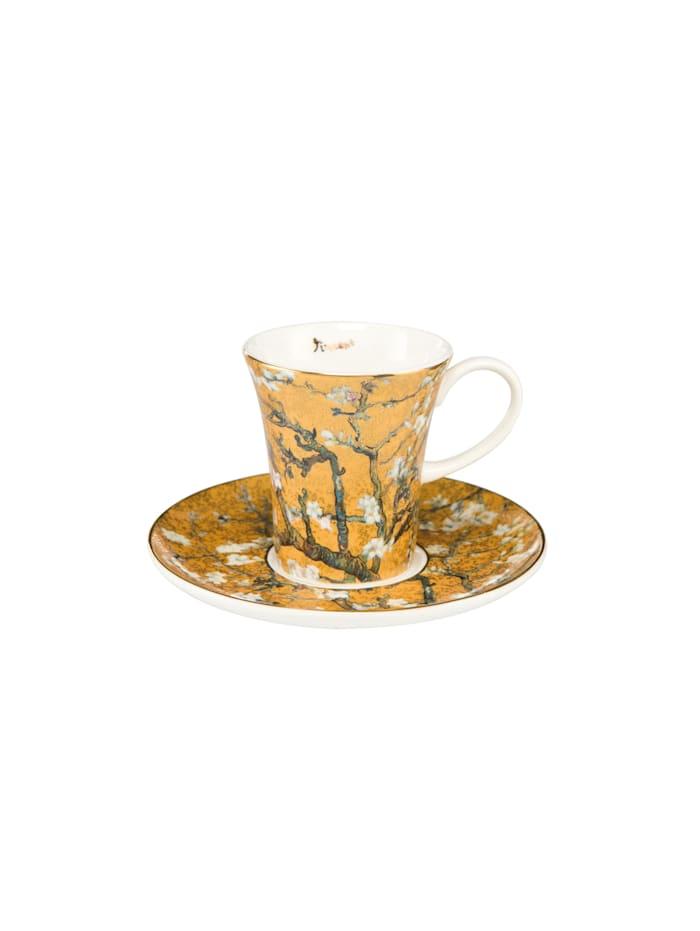"""Goebel Goebel Espressotasse Vincent van Gogh - """"Mandelbaum Gold"""", Van Gogh - Mandelbaum gold"""