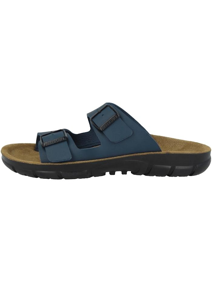 Birkenstock Sandale Bilbao Birko-Flor Weichbettung schmal, blau
