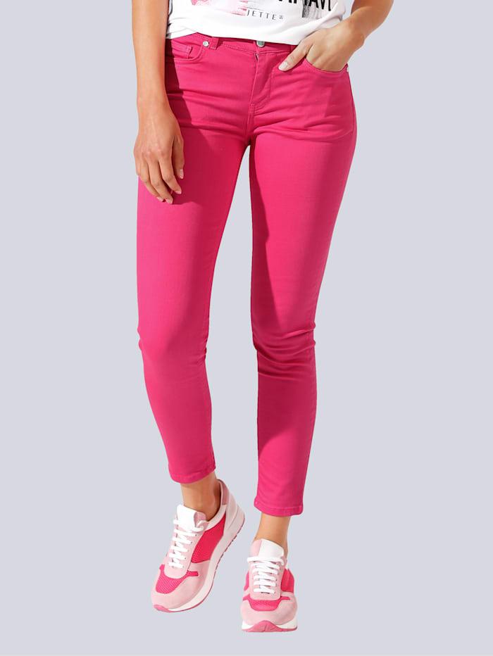 JETTE JOOP Broek in een modieuze kleur, Pink