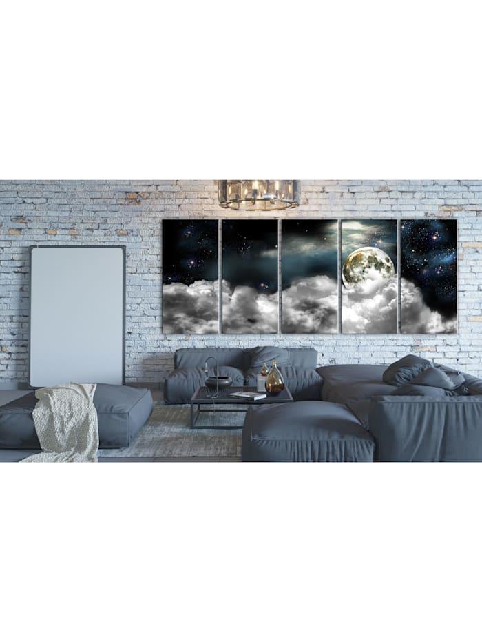 Wandbild Moon in the Clouds I