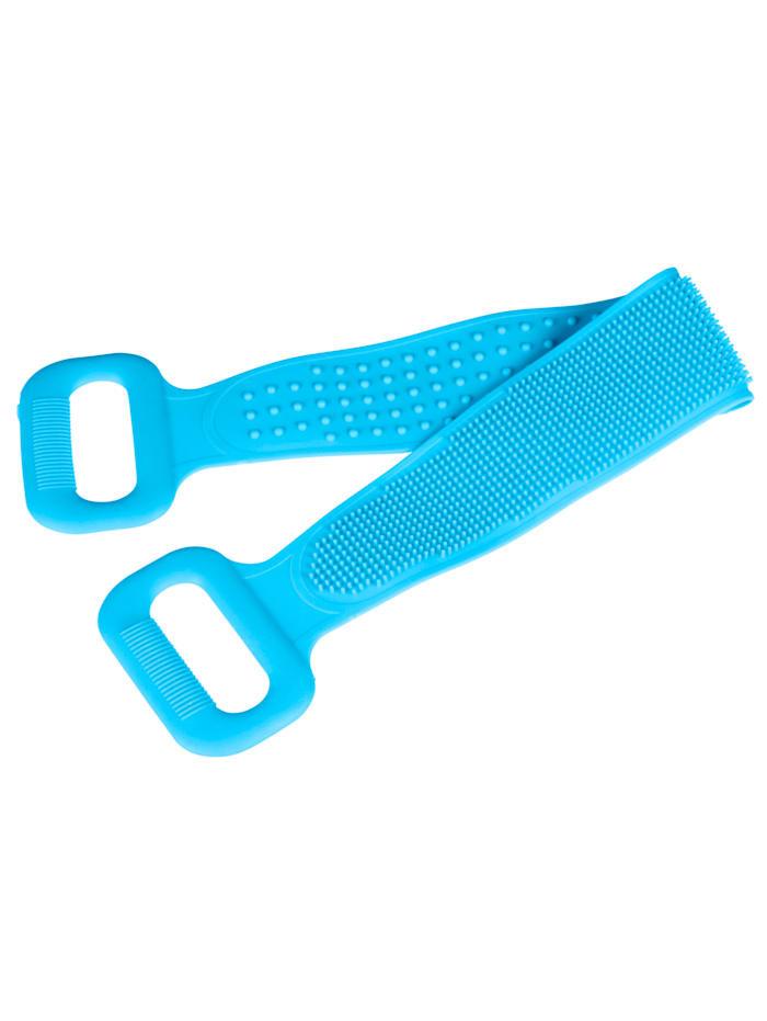 Vital Comfort Rückenbürste mit Massagefunktion, Blau