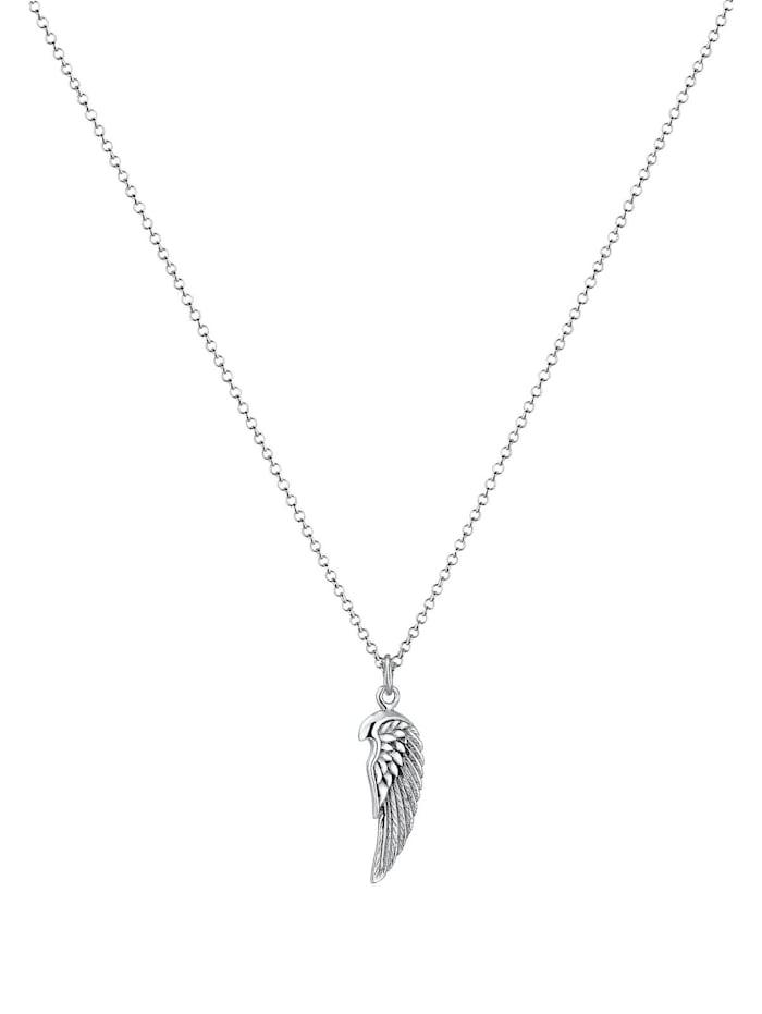 Halskette Flügel Rock Boho Cool 925 Sterling Silber