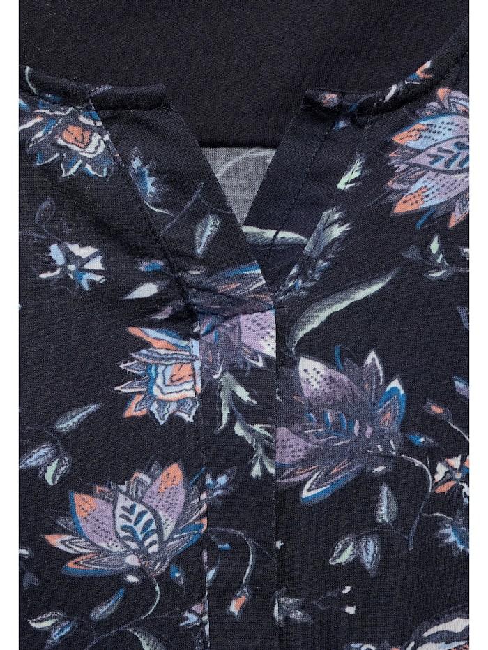 Shirt mit Flower-Print