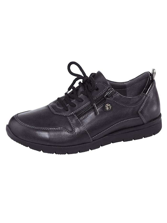 Naturläufer Lace-up shoes, Black