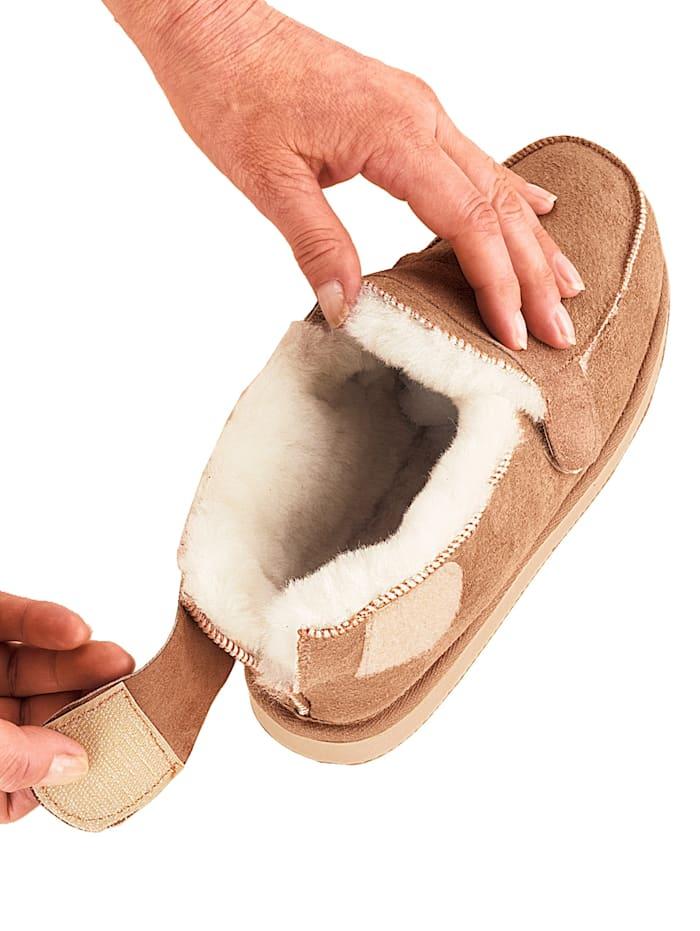 Lammfell-Komfort-Schuhe