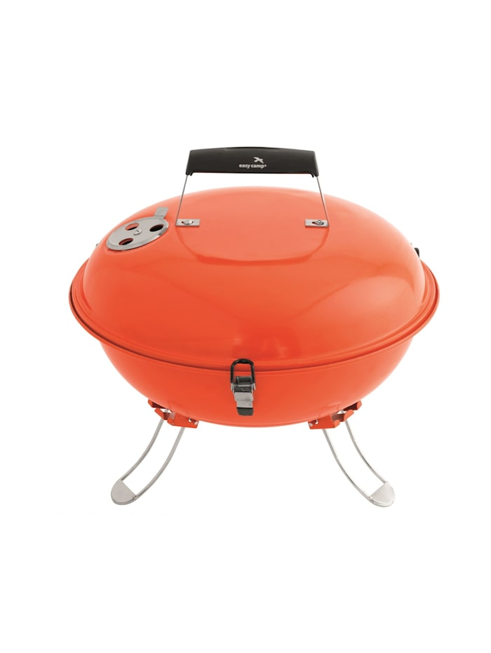 Easy Camp Grill Holzkohlegrill Adventure Grill Orange, Orange