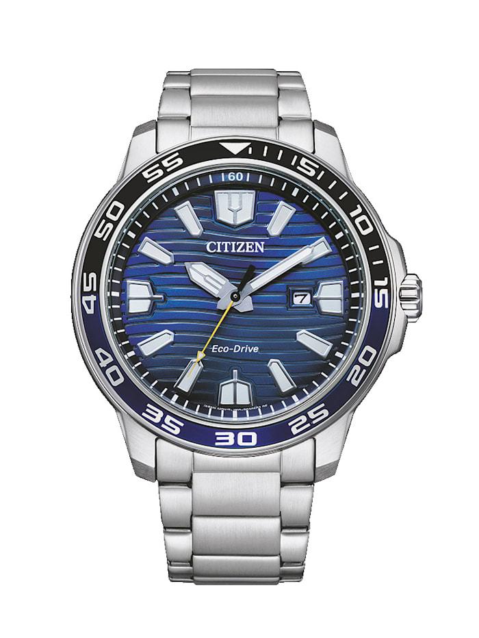 Citizen Herrenuhr ECO-Drive, AW1525-81L, Silberfarben