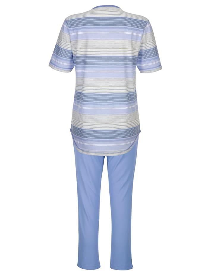 Schlafanzug in Klima-Komfort-Qualität