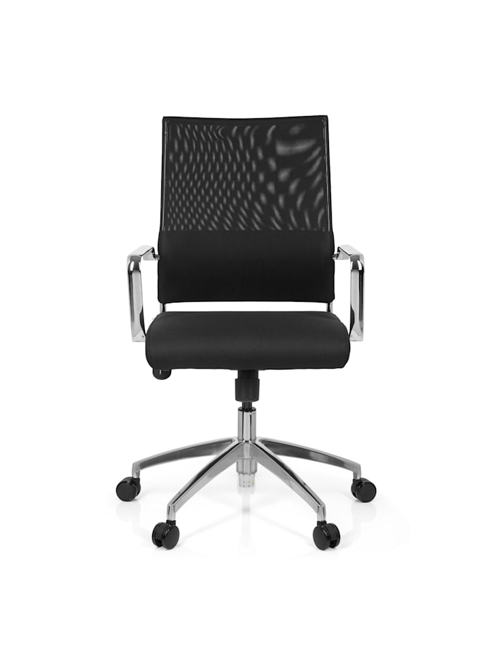 hjh OFFICE Home Office Chefsessel LUCANO, Schwarz
