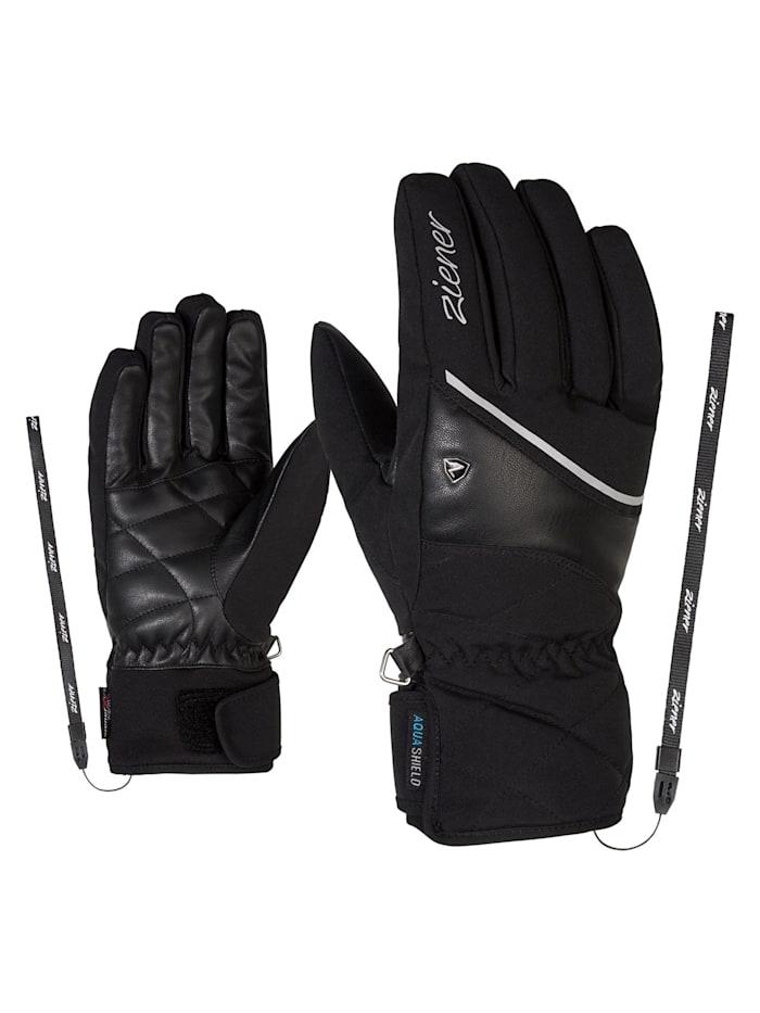 Ziener KAIKA AS(R) AW lady glove, Black