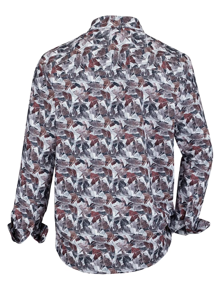 Hemd mit angesagtem Druckdessin