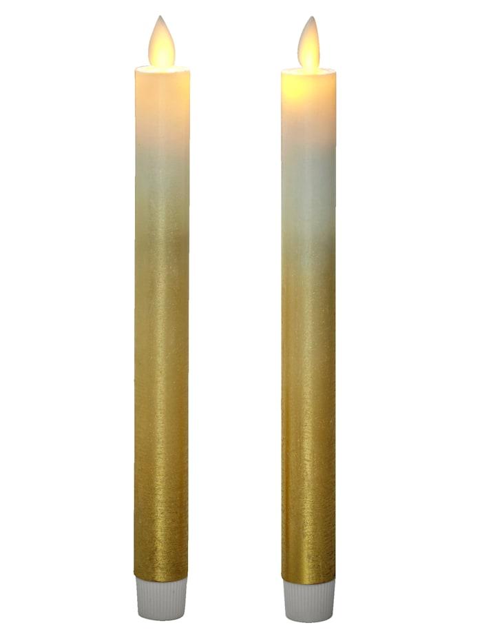 LED-kruunukynttilä, 2/pakkaus