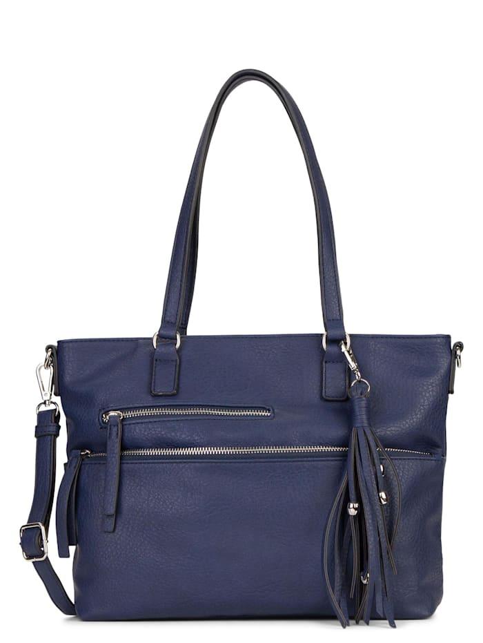 Tamaris Tamaris Shopper Adele Uni, blue 500