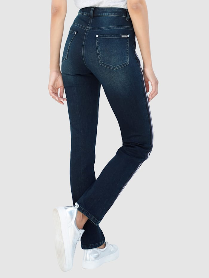 Jeans Laura Slim - mit aufgesetztem Band