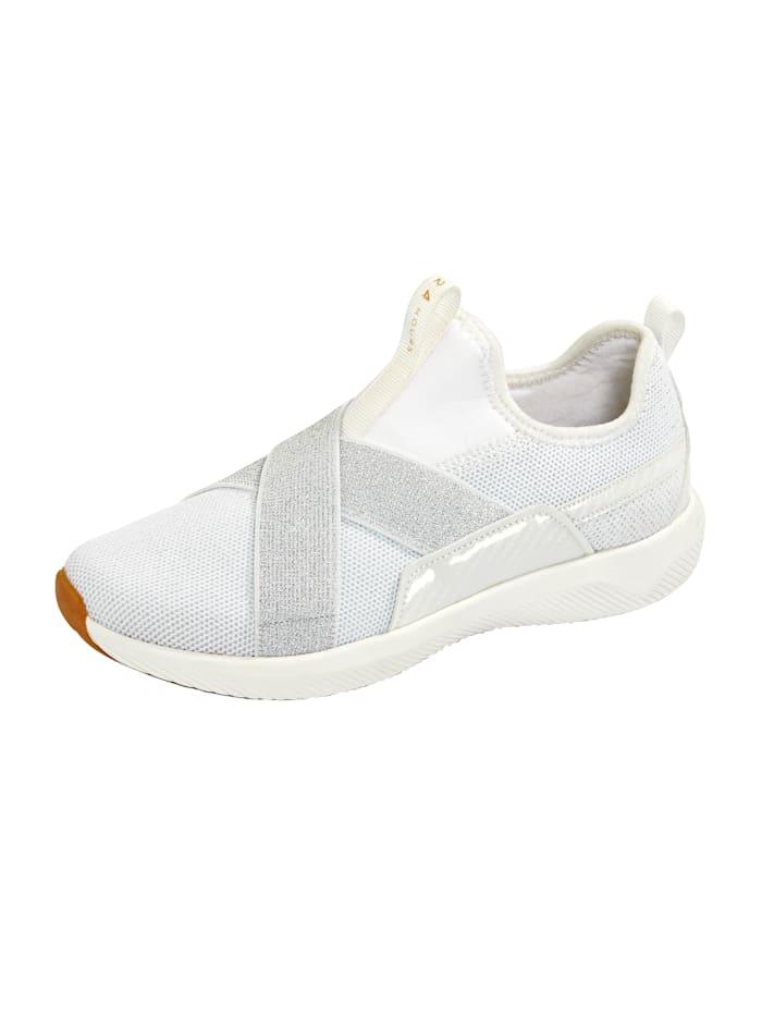 24 Hours Sneaker met drie-componenten-tussenzool, Wit