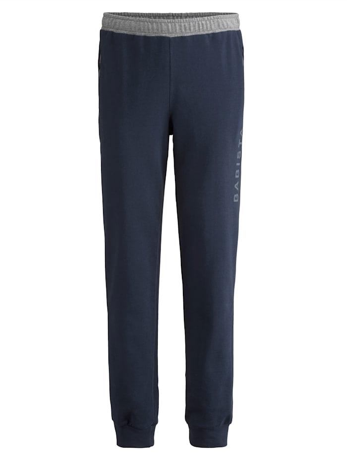 BABISTA Pantalon de jogging Poches zippées, Marine