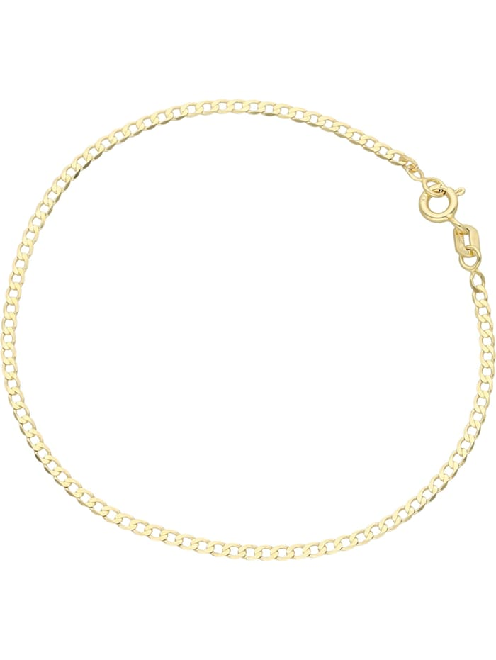 Luigi Merano Armband glanz, Gold 375, Gold