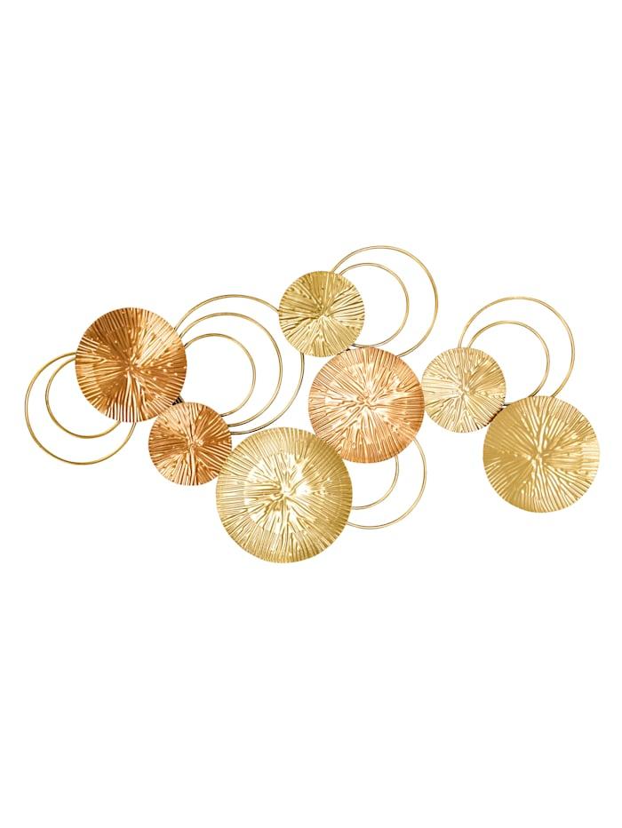 IMPRESSIONEN living Wand-Deko, roségold- & goldfarben
