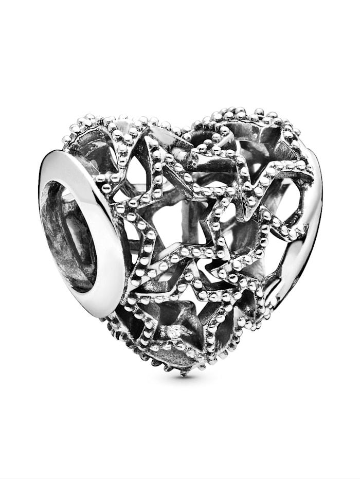 Pandora Charm -Durchbrochenes Herz- 798462C00, Silberfarben