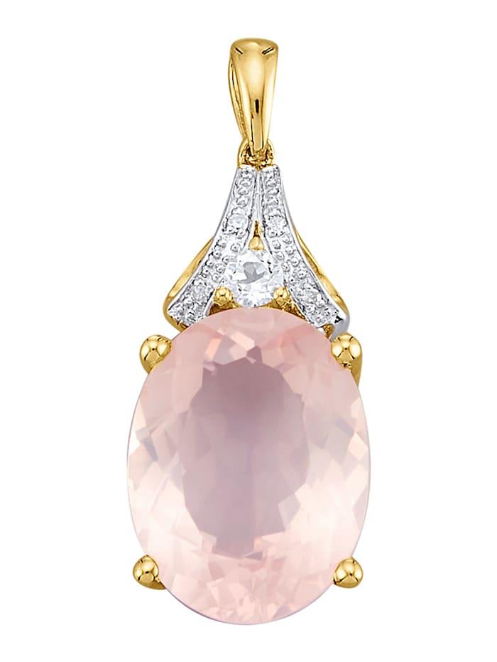 Hanger van echt zilver, Roze