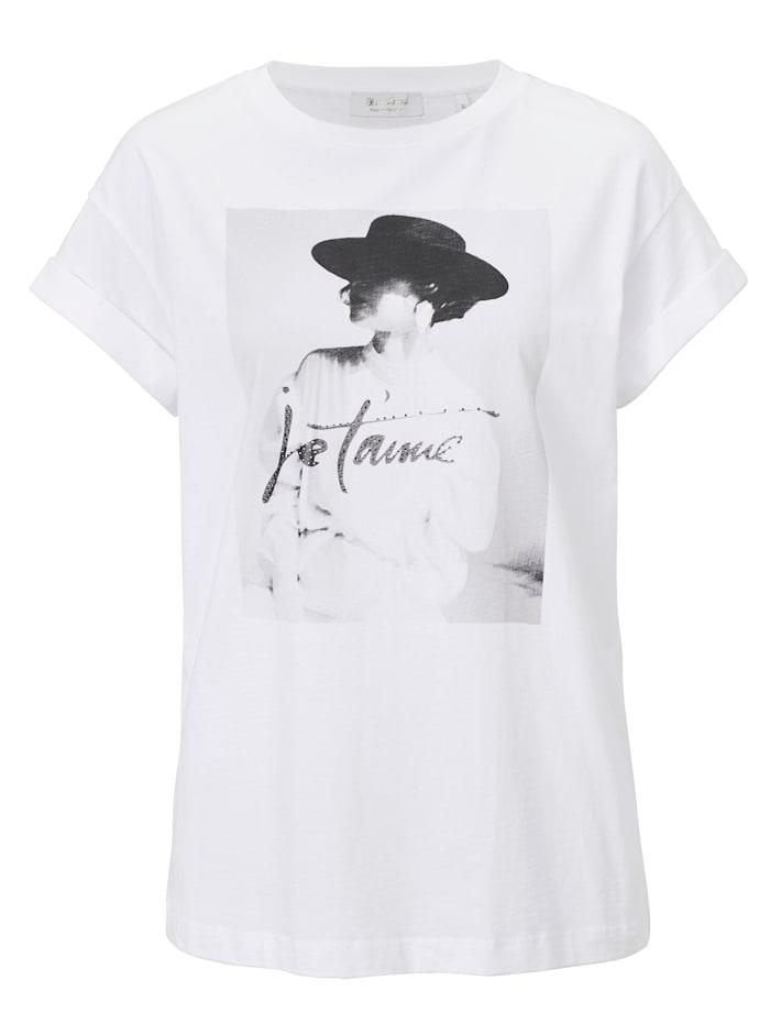 rich&royal T-Shirt, Weiß