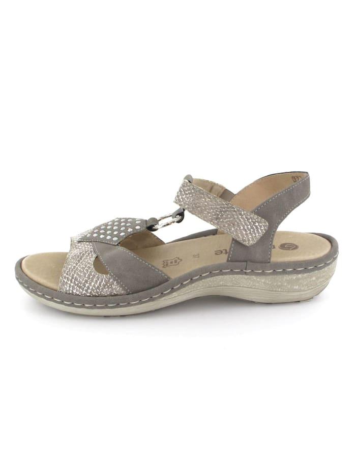 Remonte Sandalen/Sandaletten, grün