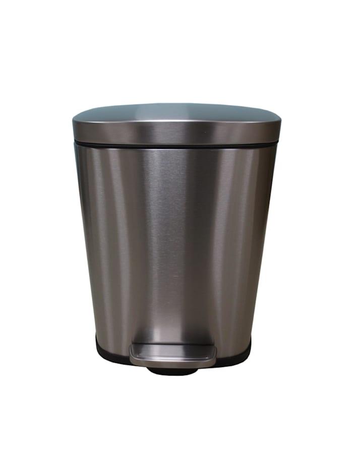 HTI-Living Mülleimer Vivo 5 l, Silber