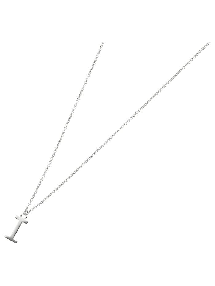 Smart Jewel Collier Buchstabe I, Silber 925, Silber