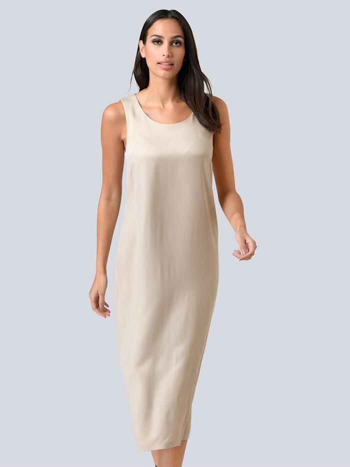 Alba Moda Šaty z ušľachtilej kvality, Piesková