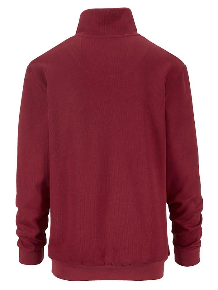 Sweatshirt med maritima detaljer
