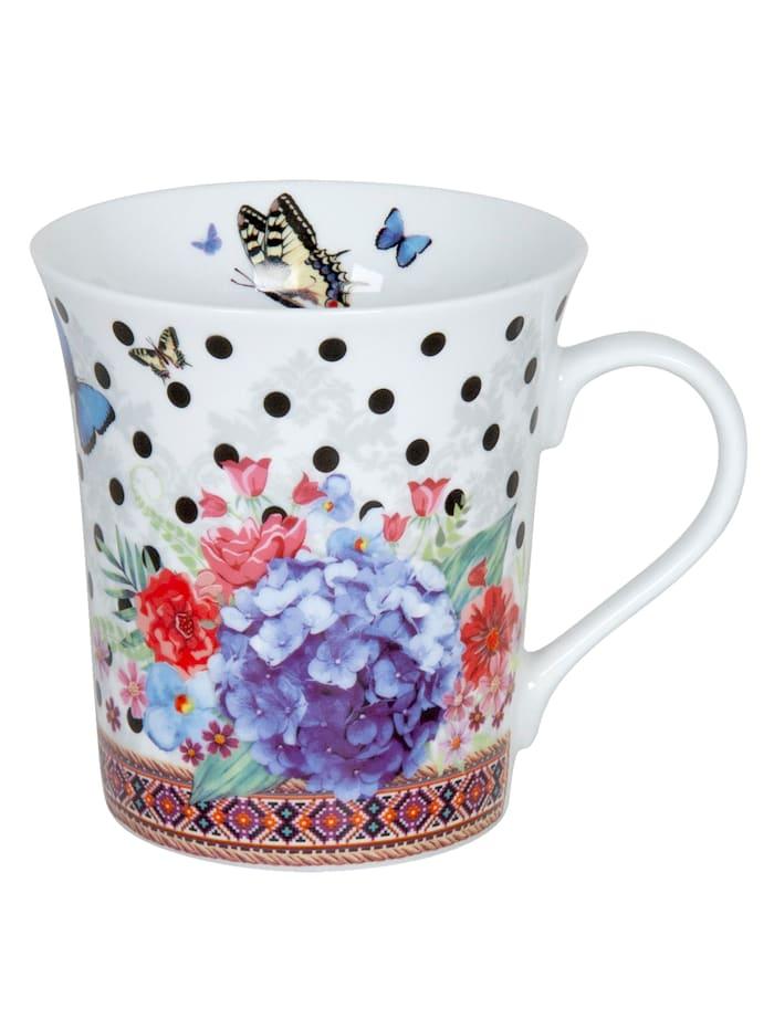 Könitz Lot de 2 mugs Merian 'Viva la Vida', Multicolore