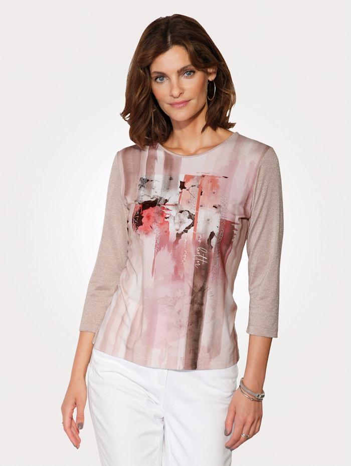 Shirt mit romantischem Druck